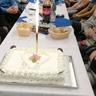 Születésnap az idősek otthonában